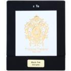 Tiziana Terenzi Black Fire dišeča sveča  1 kos majhna s pokrovčkom