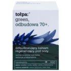 Tołpa Green Reconstruction 70+ intensives Balsam für die Augenpartie Creme zur Wiederherstellung der Festigkeit der Haut