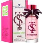 Tom Tailor College Sport Eau de Toilette voor Vrouwen  50 ml