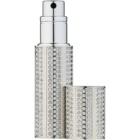 Travalo Divine vaporizador de perfume recargable unisex 5 ml con cristales Swarovski Silver