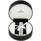 Travalo Divine szórófejes parfüm utántöltő palack unisex 5 ml Swarovski kristállyal Silver