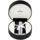 Travalo Divine vaporizador de perfume recarregável unissexo 5 ml com cristais Swarovski Silver