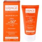 Uriage Bariésun illatmentes napozó krém az arcra SPF 50+