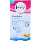 Veet Wax Strips benzi depilatoare cu ceara rece pentru piele sensibila