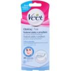 Veet Wax Strips voskové depilační pásky na obličej