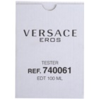 Versace Eros туалетна вода тестер для чоловіків 100 мл