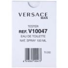 Versace Man toaletní voda tester pro muže 100 ml