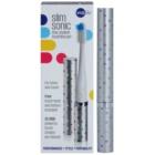 Violife Slim Sonic Silver Dots escova de dentes sónica elétrica com cabeça de reposição