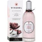 Vivian Gray Vivanel Lotus&Rose Eau de Toilette para mulheres 100 ml
