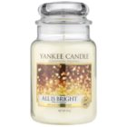 Yankee Candle All is Bright Scented Candle 623 g Classic Large