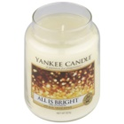 Yankee Candle All is Bright vela perfumado 623 g Classic grande
