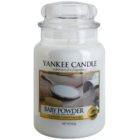 Yankee Candle Baby Powder świeczka zapachowa  623 g Classic duża