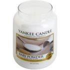 Yankee Candle Baby Powder vonná svíčka 623 g Classic velká
