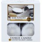 Yankee Candle Baby Powder Teelicht 12 x 9,8 g