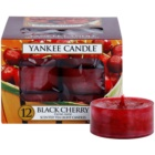 Yankee Candle Black Cherry teamécses 12 x 9,8 g