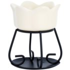 Yankee Candle Petal Bowl ceramiczna lampa aromatyczna   I. (Cream)