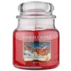 Yankee Candle Christmas Eve lumânare parfumată  411 g Clasic mediu