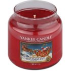 Yankee Candle Christmas Eve vonná sviečka 411 g Classic stredná