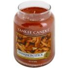 Yankee Candle Cinnamon Stick Αρωματικό κερί 623 γρ Κλασικό μεγάλο