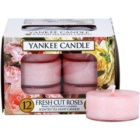Yankee Candle Fresh Cut Roses Tealight Candle 12 x 9,8 g