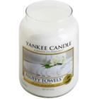 Yankee Candle Fluffy Towels illatos gyertya  623 g Classic nagy méret