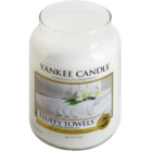 Yankee Candle Fluffy Towels Scented Candle 623 g Classic Large