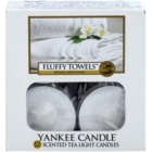 Yankee Candle Fluffy Towels candela scaldavivande 12 x 9,8 g