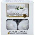 Yankee Candle Fluffy Towels Duft-Teelicht 12 x 9,8 g