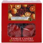 Yankee Candle Mandarin Cranberry čajová svíčka 12 x 9,8 g