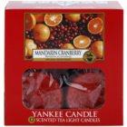 Yankee Candle Mandarin Cranberry čajová sviečka 12 x 9,8 g