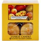 Yankee Candle Mango Peach Salsa świeczka typu tealight 12 x 9,8 g