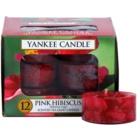 Yankee Candle Pink Hibiscus Teelicht 12 x 9,8 g