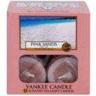 Yankee Candle Pink Sands čajová svíčka 12 x 9,8 g