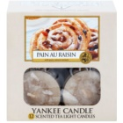 Yankee Candle Pain au Raisin čajna sveča 12 x 9,8 g