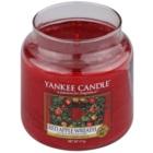 Yankee Candle Red Apple Wreath vela perfumada  411 g Classic mediana