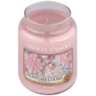 Yankee Candle Snowflake Cookie Duftkerze  623 g Classic groß