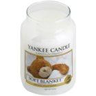 Yankee Candle Soft Blanket ароматна свещ  623 гр. Classic голяма
