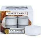 Yankee Candle Soft Blanket čajová svíčka 12 x 9,8 g