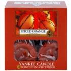 Yankee Candle Spiced Orange świeczka typu tealight 12 x 9,8 g
