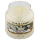 Yankee Candle Sparkling Snow vela perfumada  104 g Classic pequeña