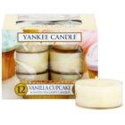 Yankee Candle Vanilla Cupcake čajová svíčka 12 x 9,8 g