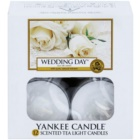 Yankee Candle Wedding Day vela do chá 12 x 9,8 g
