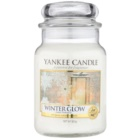 Yankee Candle Winter Glow lumânare parfumată  623 g Clasic mare