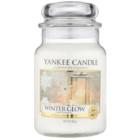 Yankee Candle Winter Glow świeczka zapachowa  623 g Classic duża