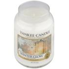 Yankee Candle Winter Glow dišeča sveča  623 g Classic velika