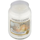 Yankee Candle Winter Glow vonná sviečka 623 g Classic veľká