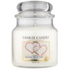 Yankee Candle Snow in Love candela profumata 411 g Classic media