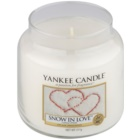 Yankee Candle Snow in Love candela profumata 411 g Classic media