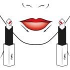 Yves Saint Laurent Rouge Pur Couture The Slim rossetto sottile matte effetto pelle