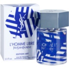Yves Saint Laurent L'Homme Libre Art Edition woda toaletowa dla mężczyzn 100 ml